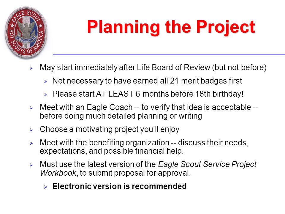 eagle scout project proposal