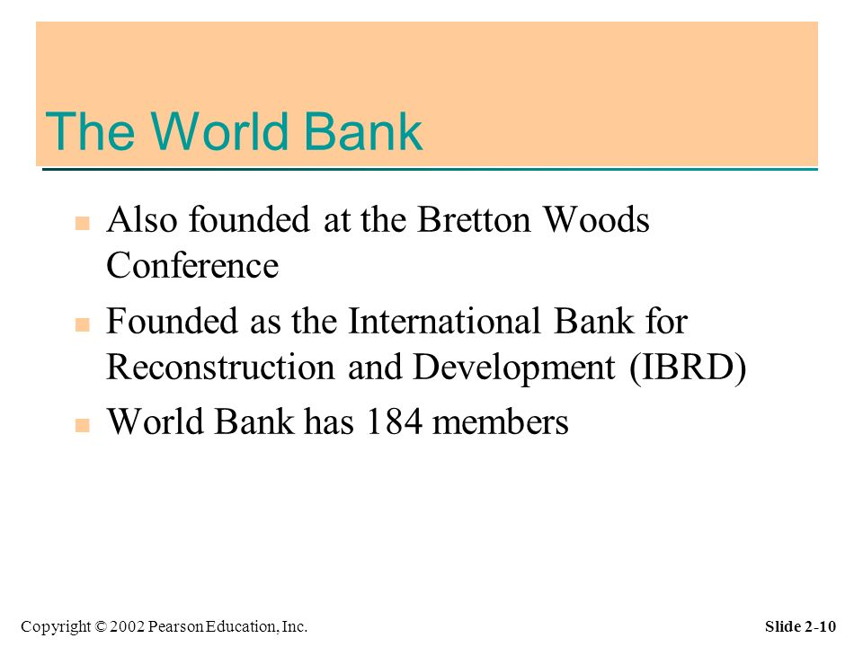 IBRDInternational Bank for Reconstruction andDevelopmentINTRODUCTION The