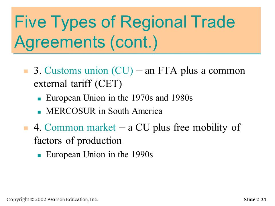 Committee on Regional Trade Agreements