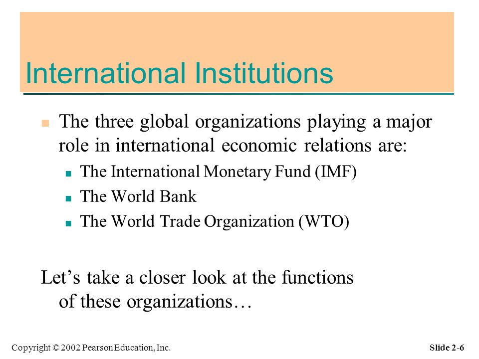 Role of the international monetary fund essay