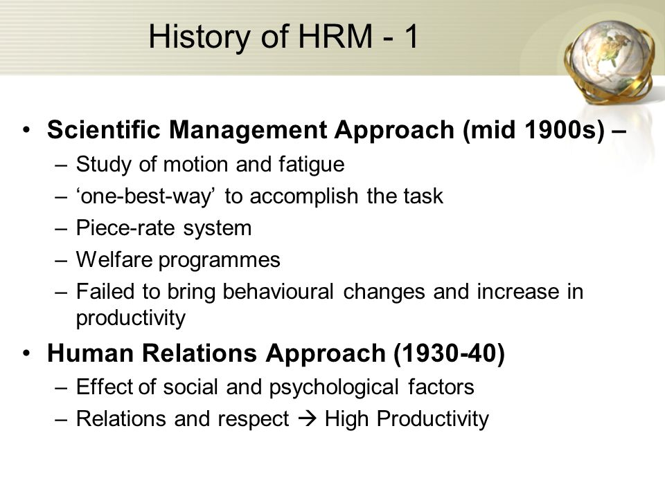 scientific management and human relations approaches Neo-taylorism vs toyota production system vs human relations movement for scientific management human relations once someone approaches work like.