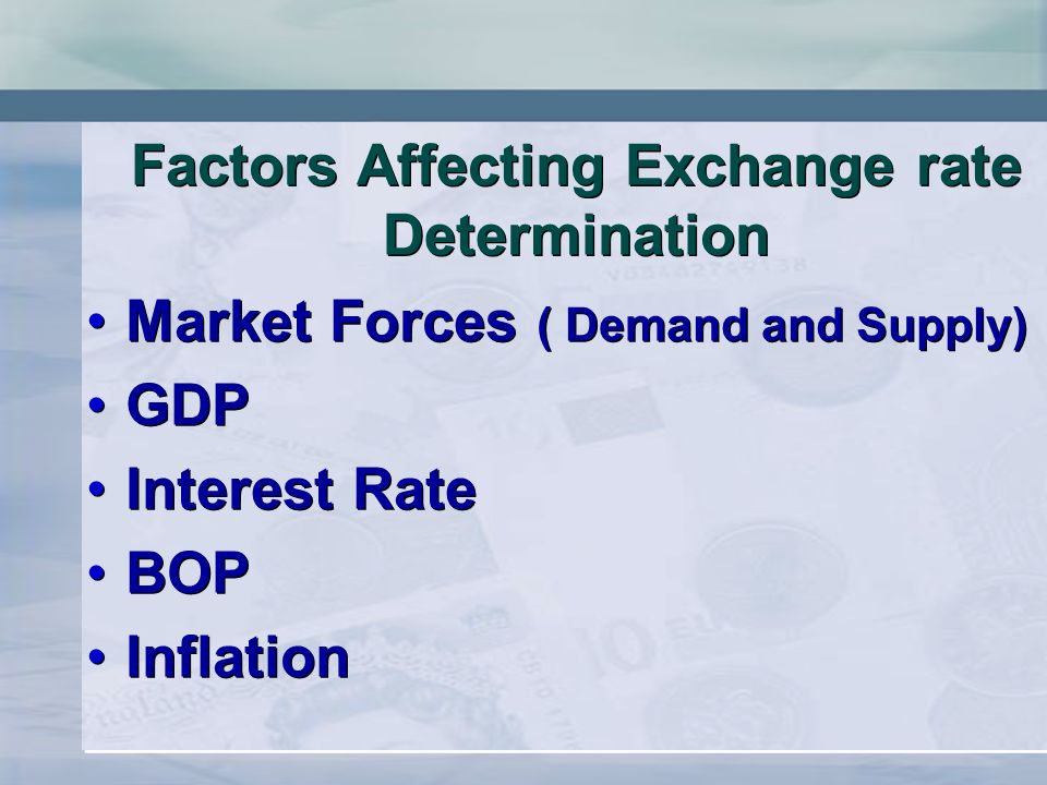 factors affecting interest rate on list 2009 using inflation, industrial production, interest rates, market index and oil  prices as  the most important factor affecting stock prices proved to be the  market index,  it is believed that oil prices should be included in any list of  factors that.