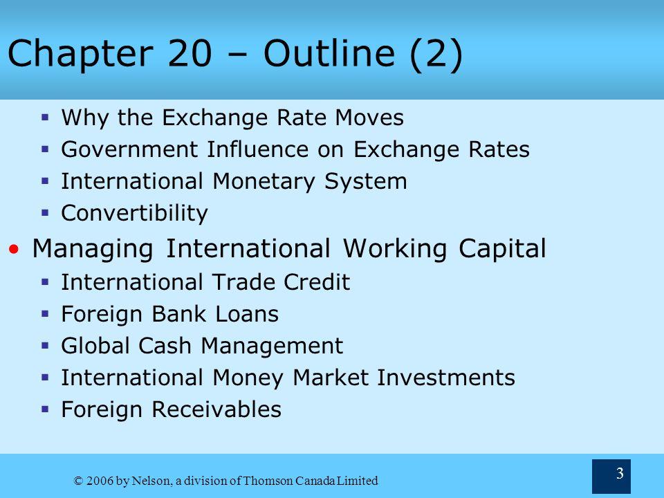 20 International Financial Management Chapter Terry ...