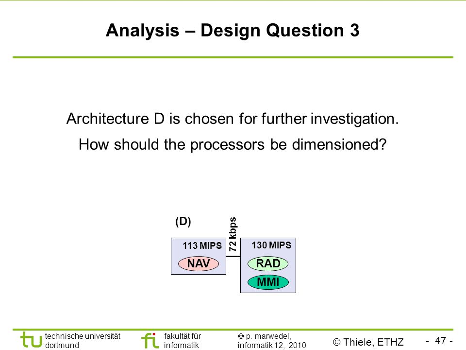 Analysis – Design Question 3