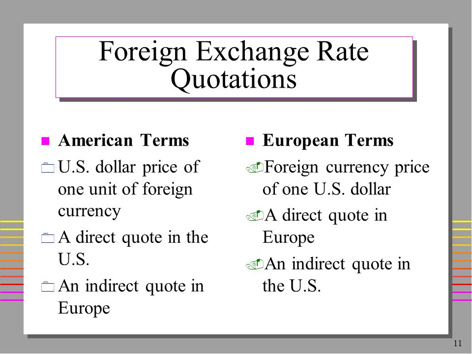 Diffe Accuracy Value The Number Of Digits After Decimal Point Is Used For Quotes In Forwards Or Futures Markets Foreign Exchange Always