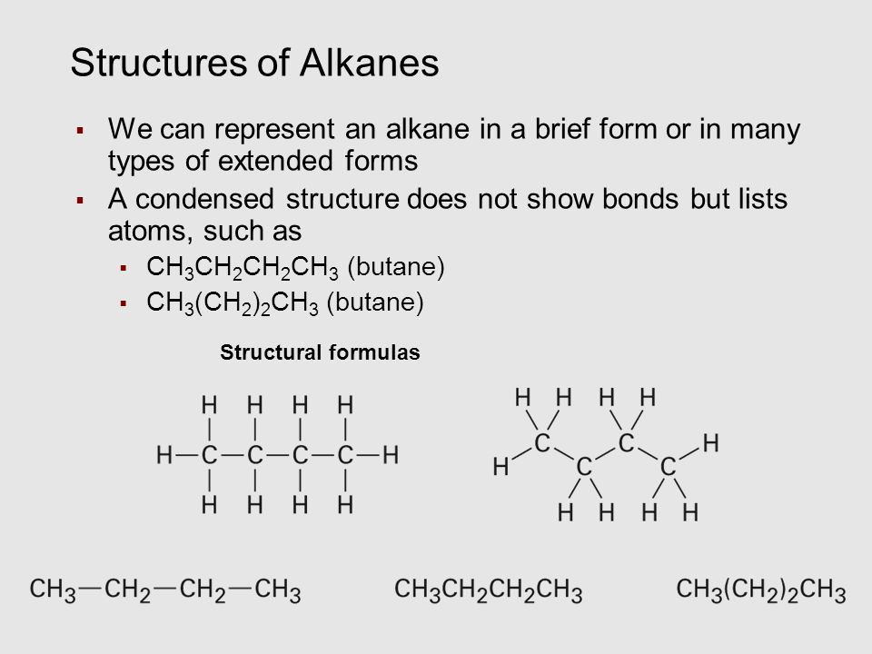 Chapter 3 Organic Compounds: Alkanes and Their ...