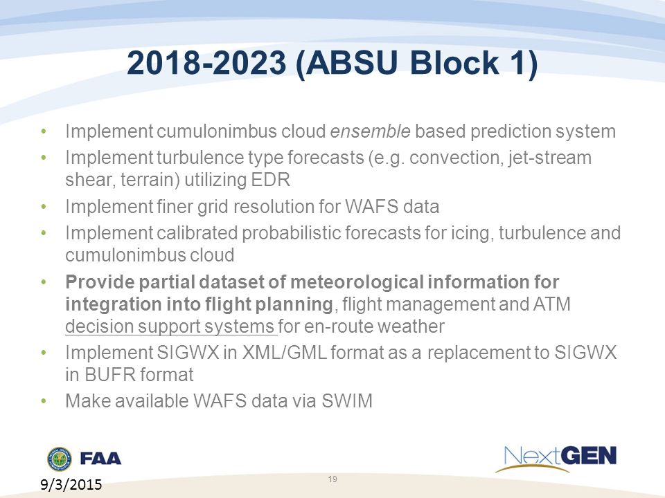 (ABSU Block 1) Implement cumulonimbus cloud ensemble based prediction system.