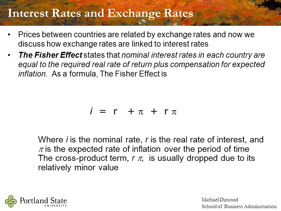 how to find expected real interest rate