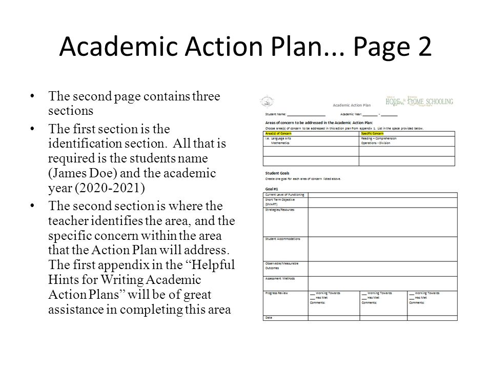 Exceptional Students Students At Risk  Academic Action Plans  Ppt