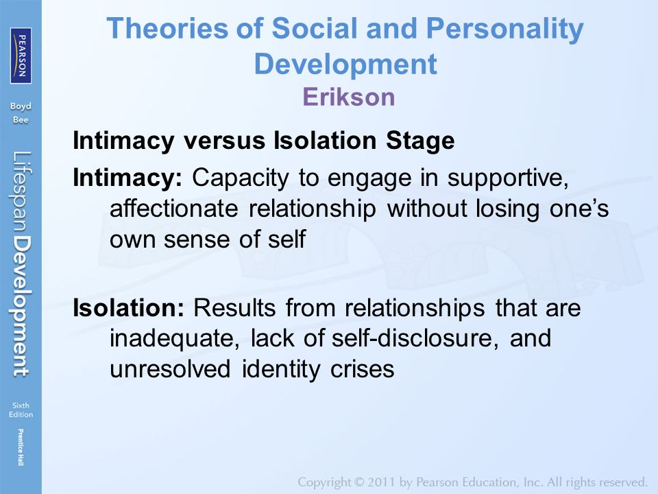 lost my sense of self in relationship theory
