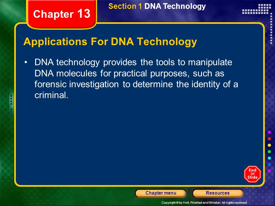 tools and techniques for dna manipulation