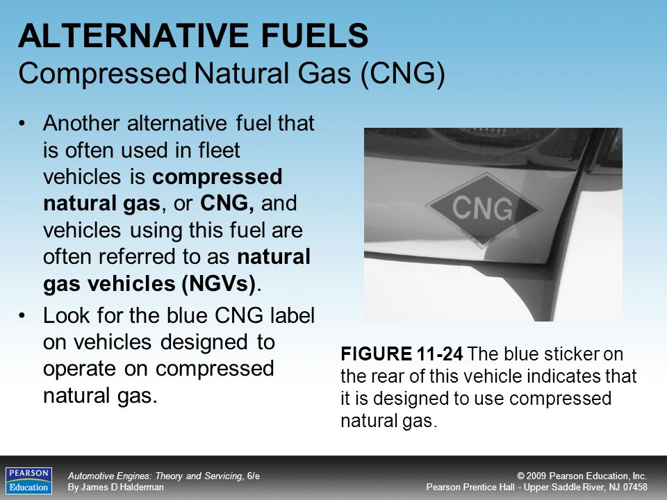 the exploration of the use of compressed natural gas cng as an alternative to gas Background compressed natural gas (cng) is a gasoline and diesel fuel alternative consisting primarily of methane the gas is associated with other fossil.