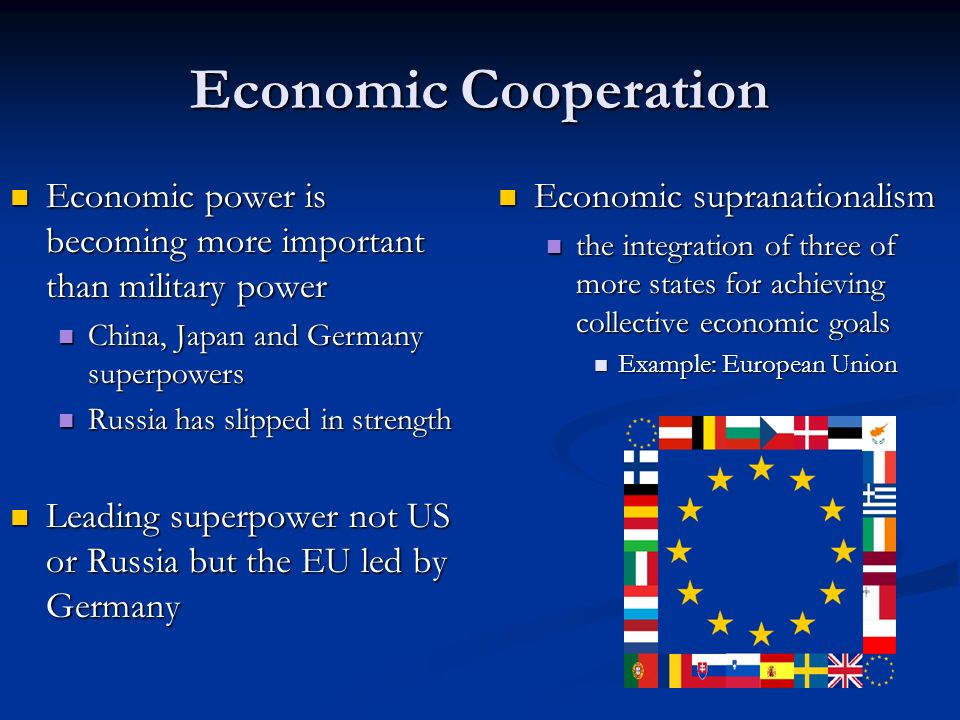 european union becomes a colossal economic strength Abstractthe russian challenge to the european security system is  the military dimension of russia's connection with  the military dimension of russia's.