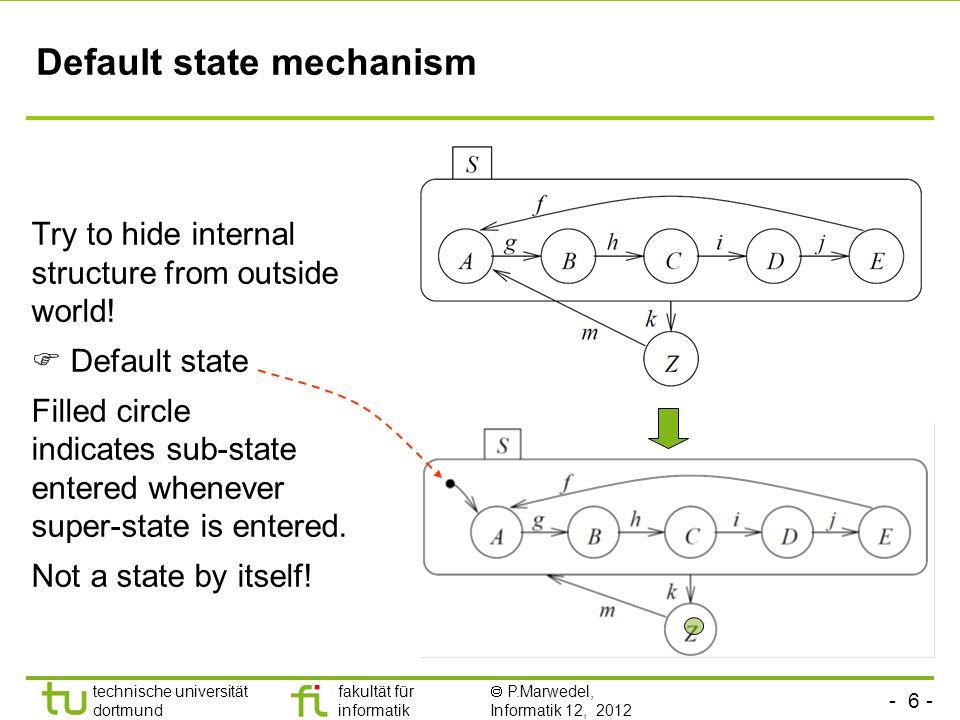 Default state mechanism