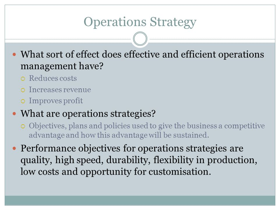 Difference Between Production and Operations Management