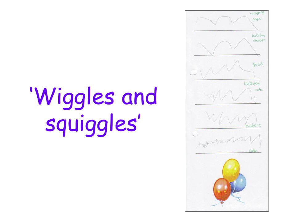'Wiggles and squiggles'