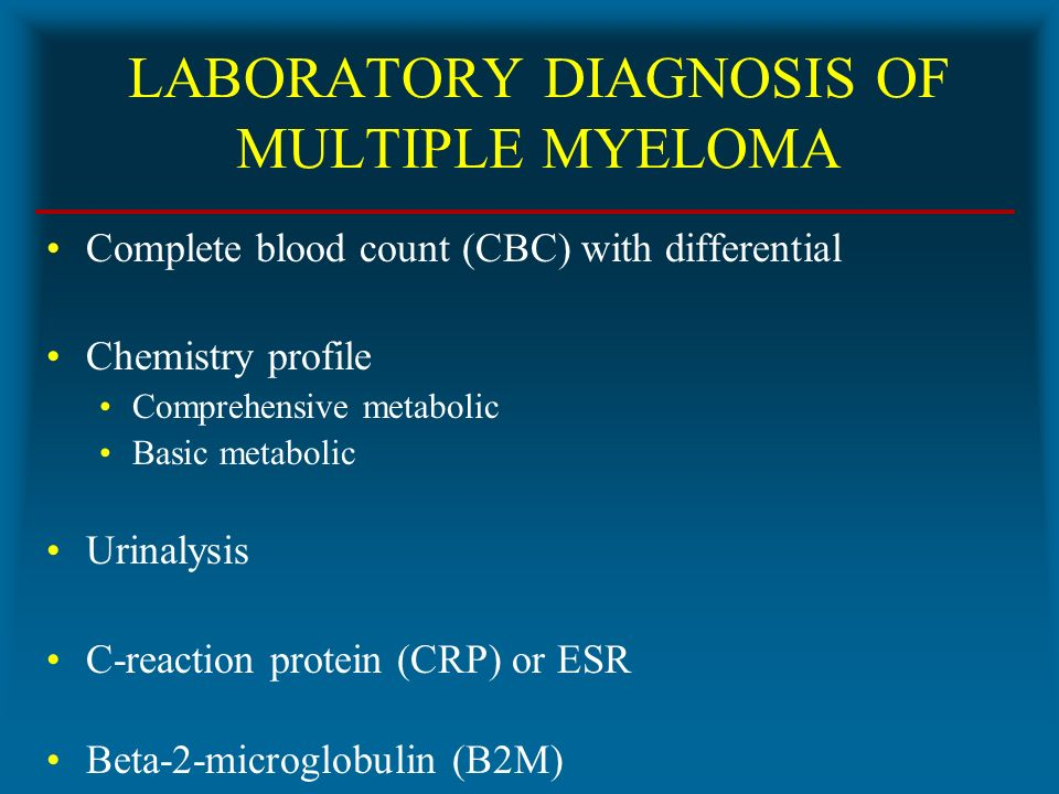 MULTIPLE MYELOMA (MM). - ppt video online download Multiple Myeloma Diagnosis