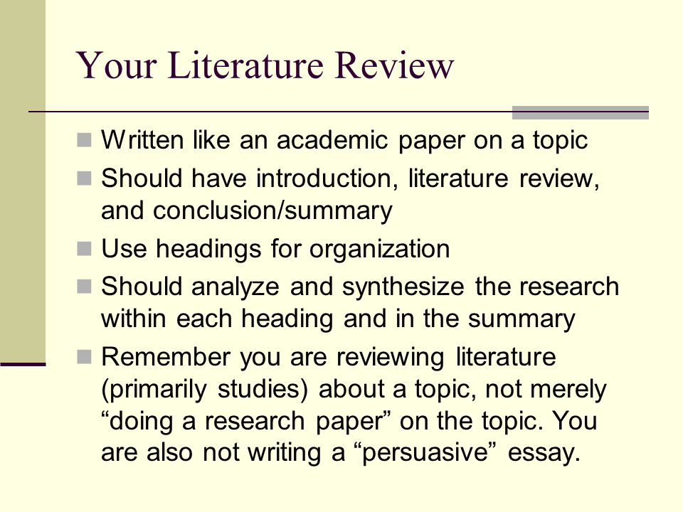 Why You Should Buy a Literature Review from CustomWritings.com