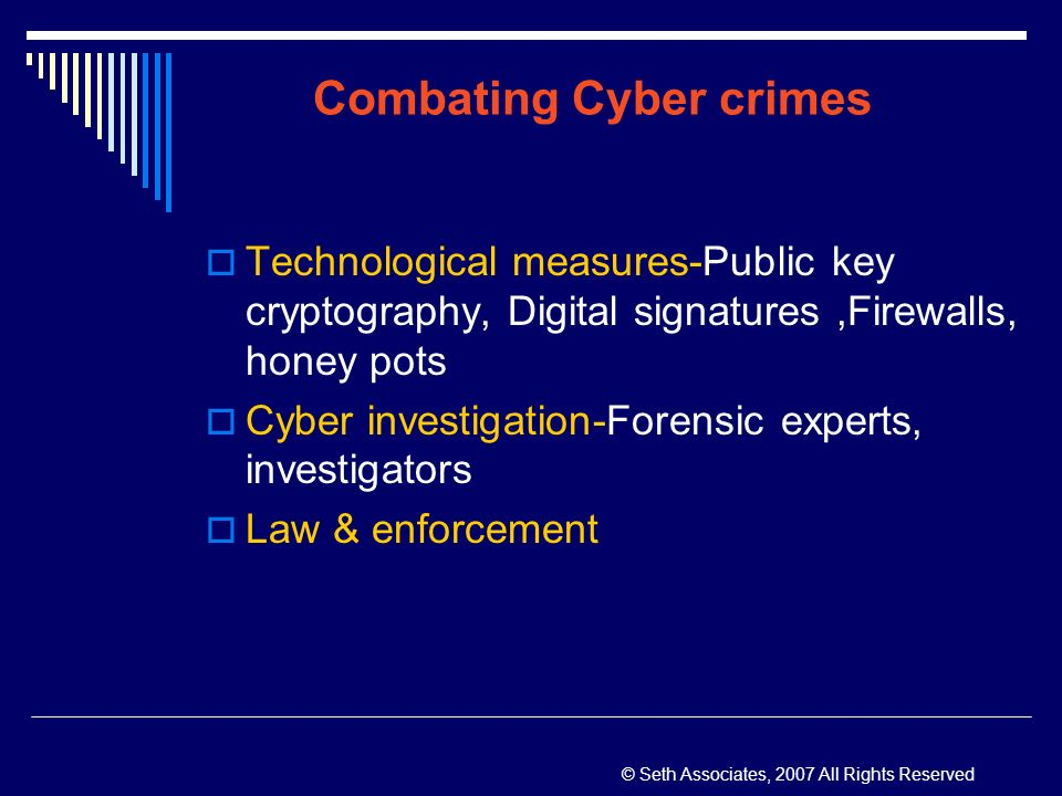 the threats of internet crime and combating computer hacking Combating computer and network intrusions: these intrusions come in the form of viruses, spyware and hacking and seek to illegally invade personal and professional systems for information identity theft: this common crime is perpetrated and proliferated by high-tech technology.