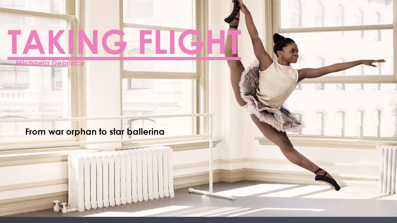 From War Orphan to Star Ballerina Taking Flight