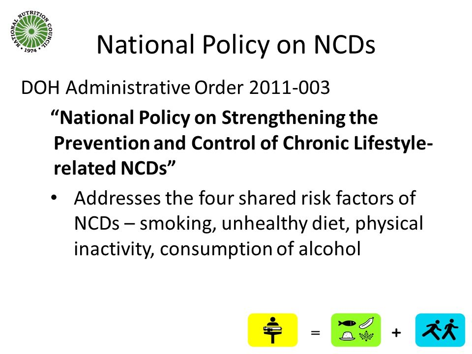 National Policy on NCDs