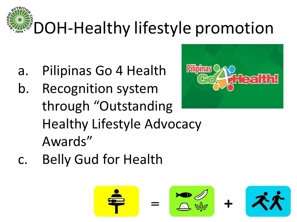 DOH-Healthy lifestyle promotion