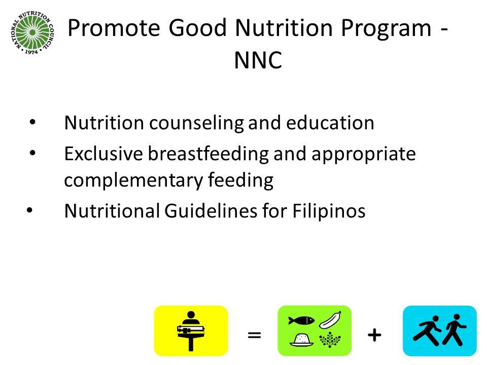 Promote Good Nutrition Program - NNC