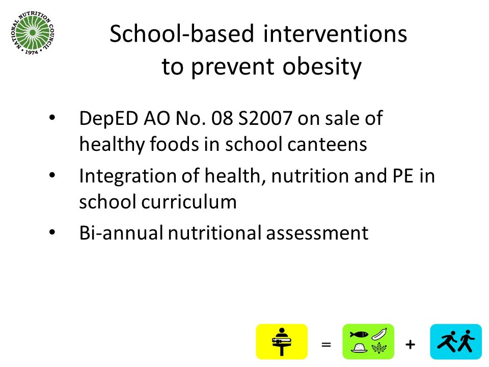 School-based interventions to prevent obesity