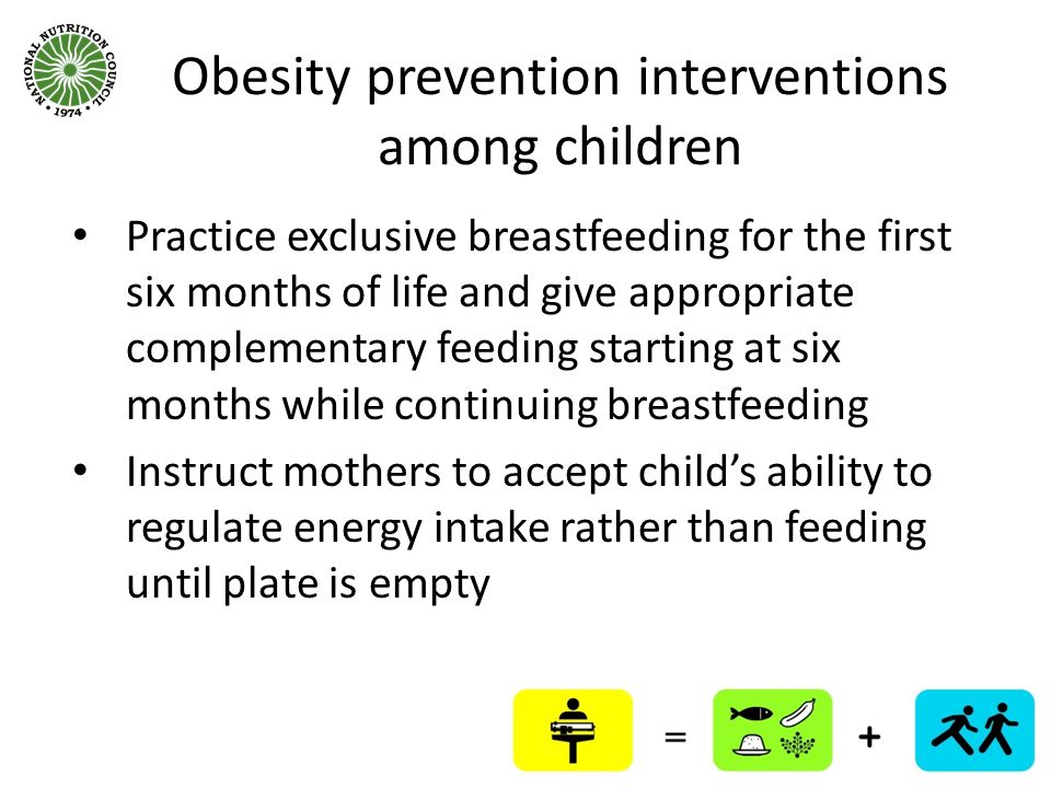 Obesity prevention interventions among children