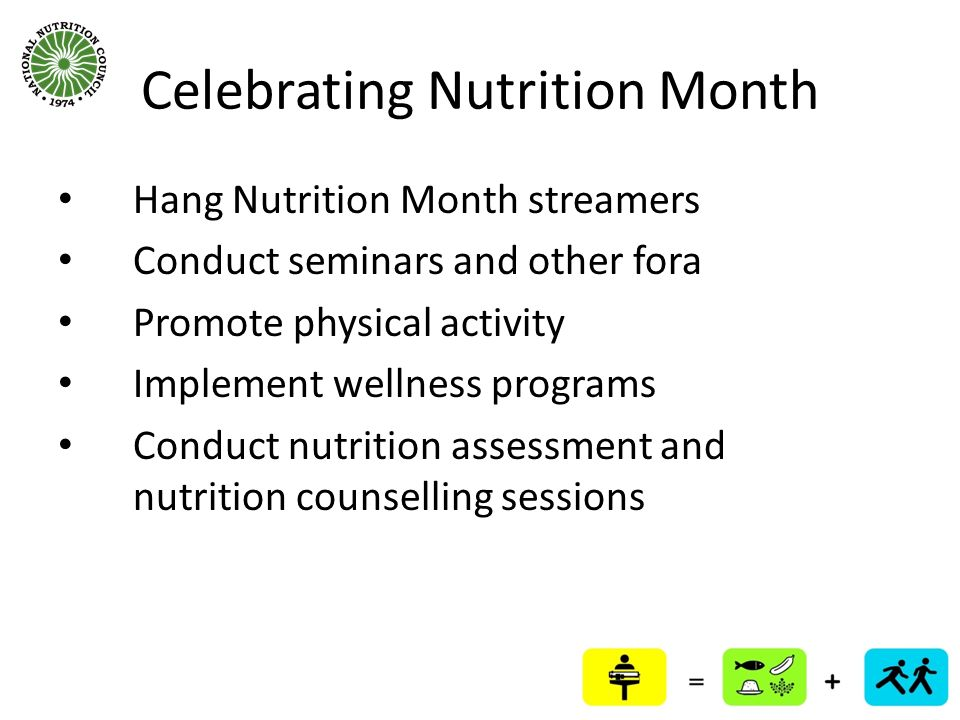 Celebrating Nutrition Month