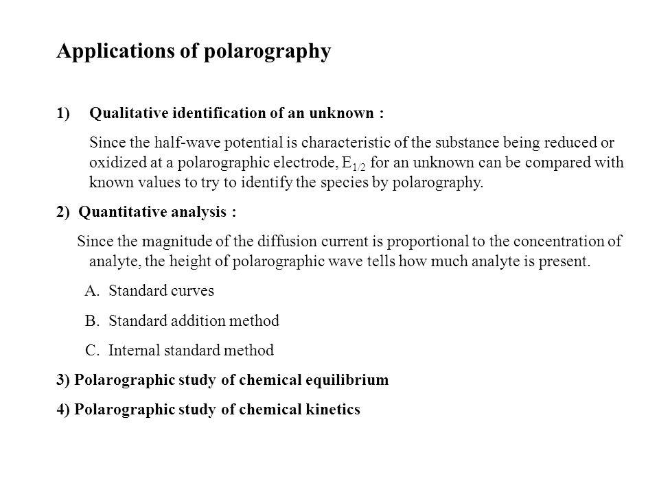 Polarographic study on the presence of antibiotics in food ...