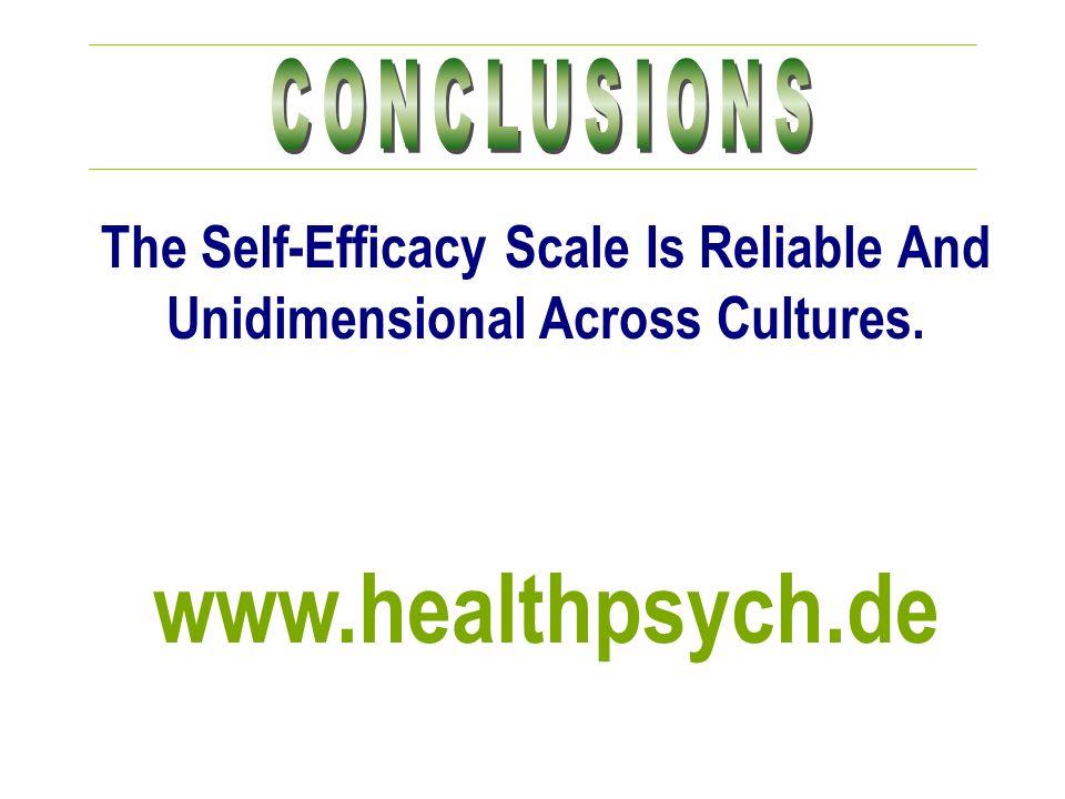www.healthpsych.de CONCLUSIONS