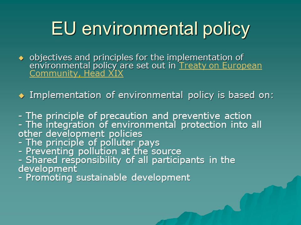 EU environmental policy