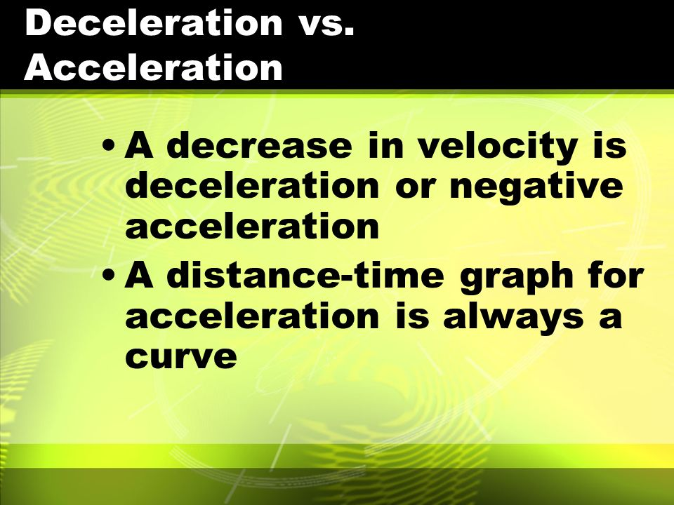 Motion, Speed, and Vel...
