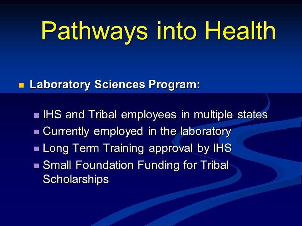 Pathways into Health Laboratory Sciences Program: