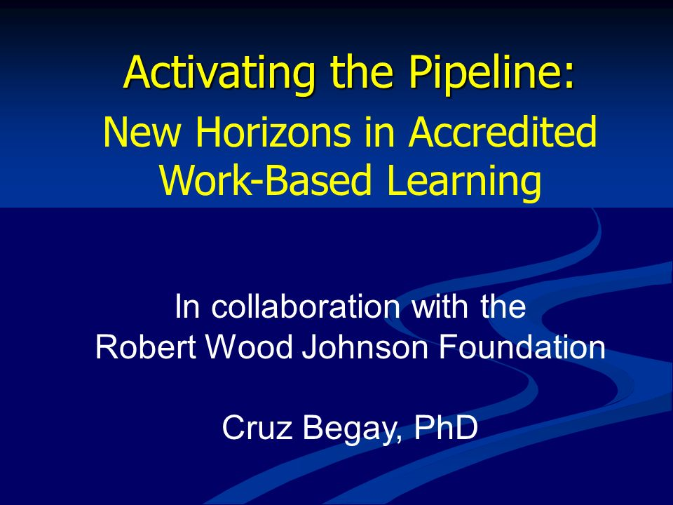 Activating the Pipeline: