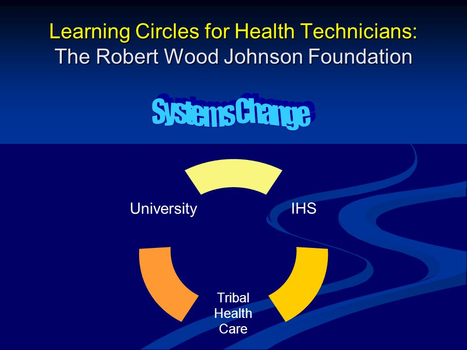 Learning Circles for Health Technicians: The Robert Wood Johnson Foundation