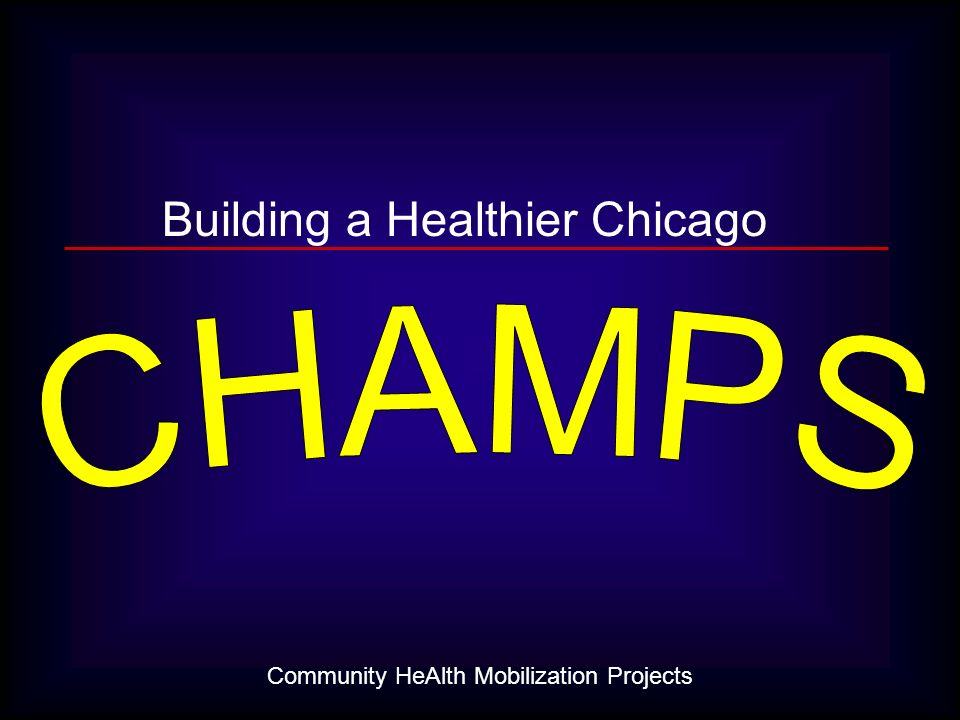 Community HeAlth Mobilization Projects