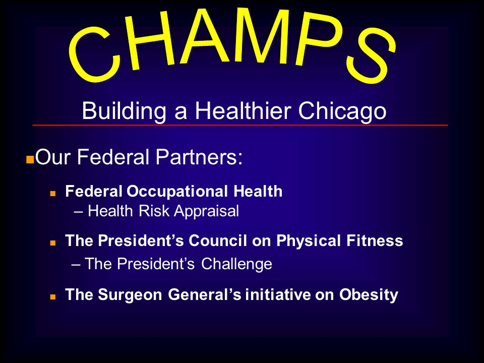 Building a Healthier Chicago