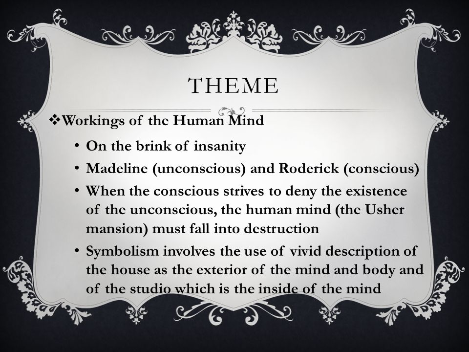 symbolism in the fall of the house of usher essay The fall of the house of usher term paper sample example term paper on the fall of the house of usher buy custom essays, research papers, term papers on the fall of the house of usher at essay lib.