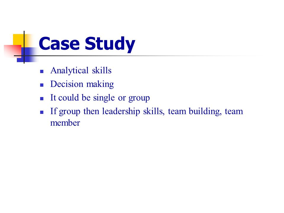 Case Studies about Leadership & Communication Skills
