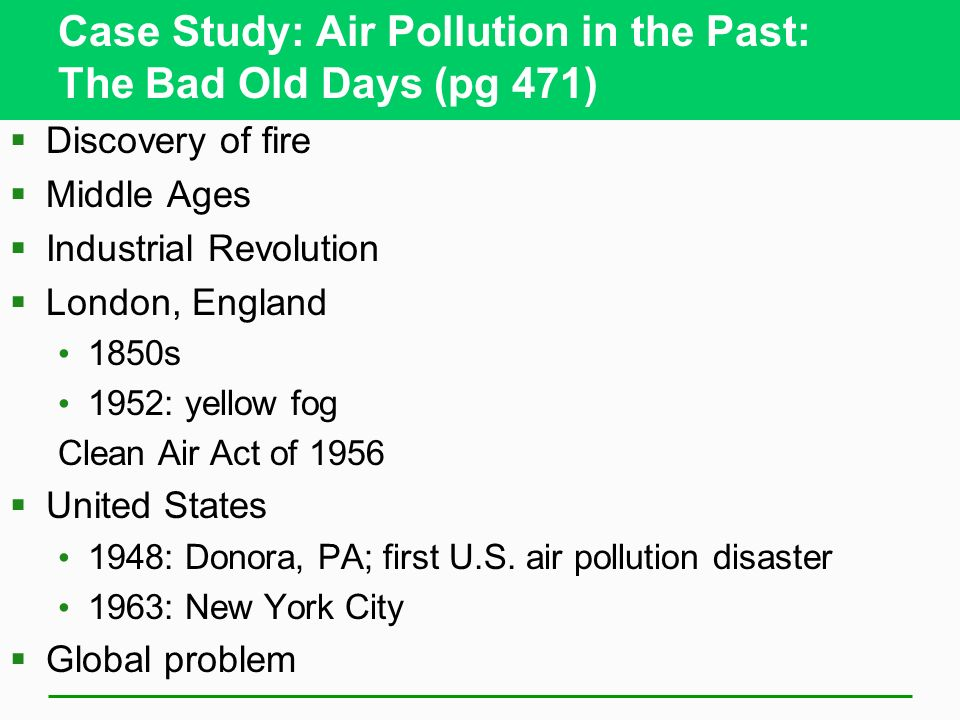 an analysis of air pollution in our industrialized world Air pollutants negatively affect  air pollution threatens our cultural  much more progress is needed on reducing air pollution to protect the world's.