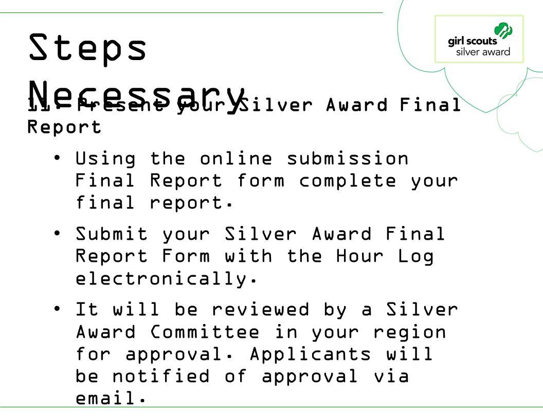 Silver Award Orientation - ppt download