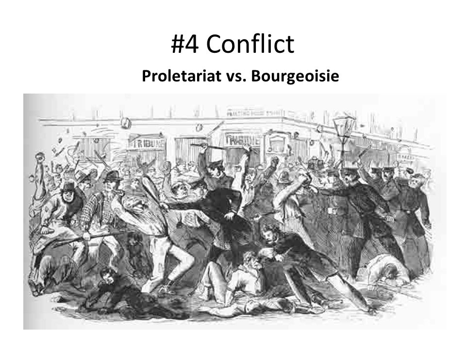 industrial revolution bourgeoisie and proletariat relationship