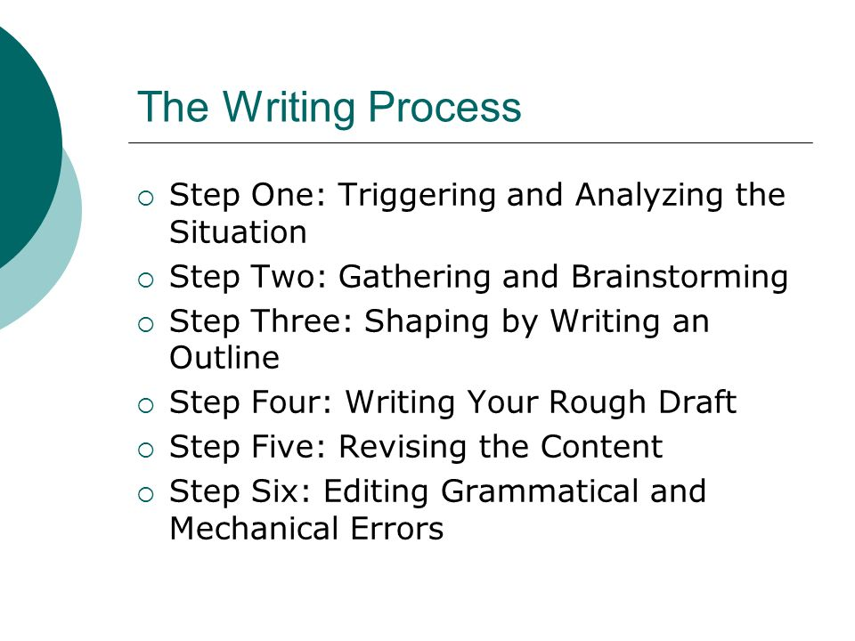 writing process step 4 rough