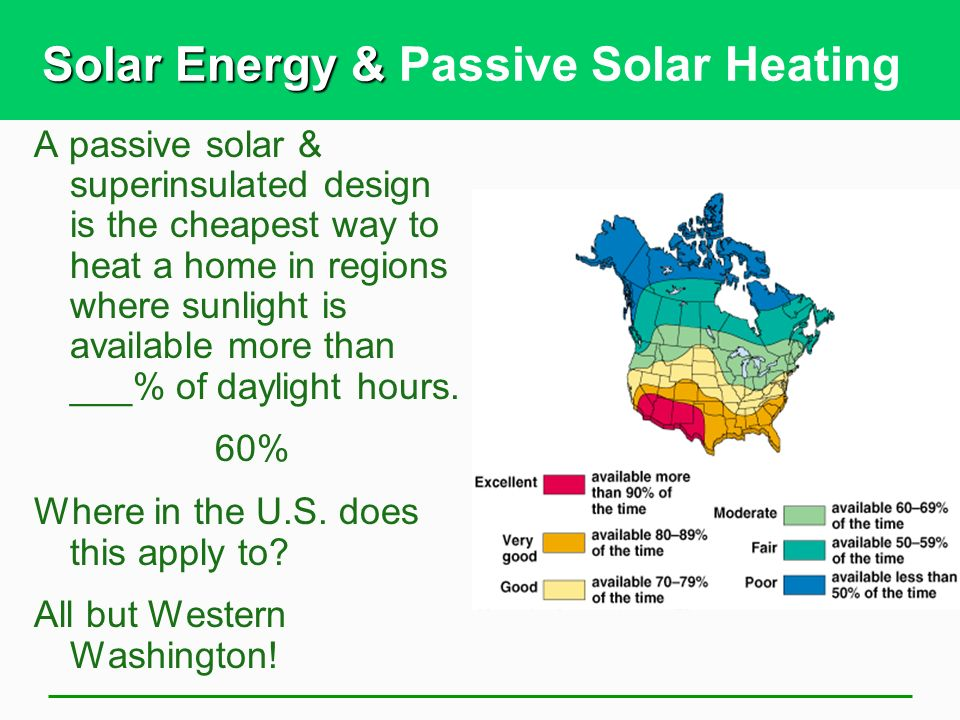 Cheapest Way To Heat Home energy efficiency and renewable energy - ppt download
