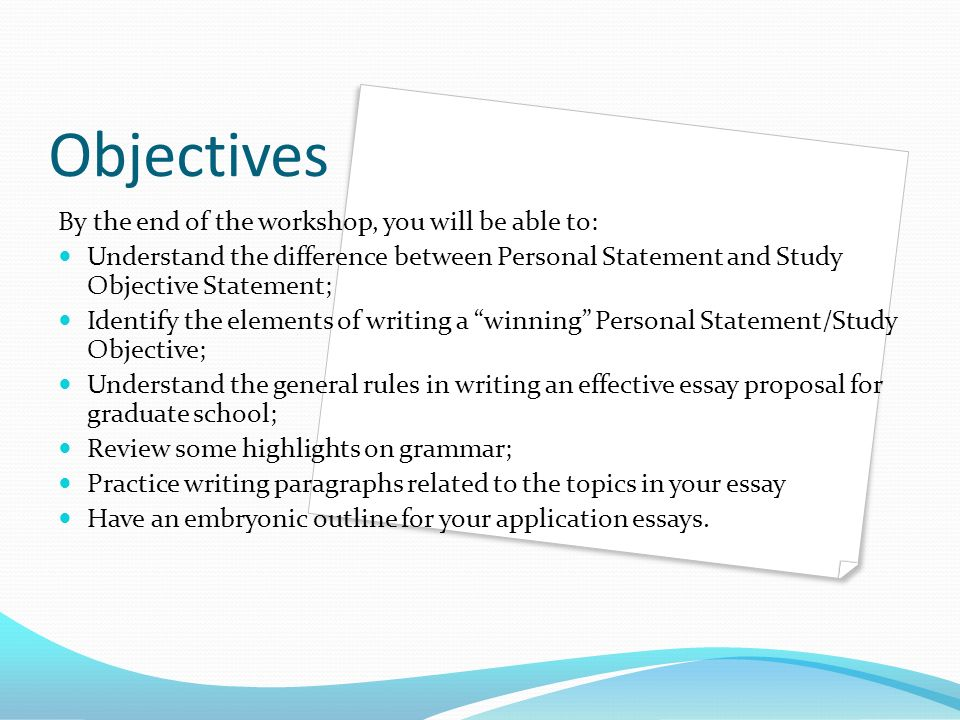writing scholarship essays for graduate school ppt  writing scholarship essays for graduate school 2 objectives