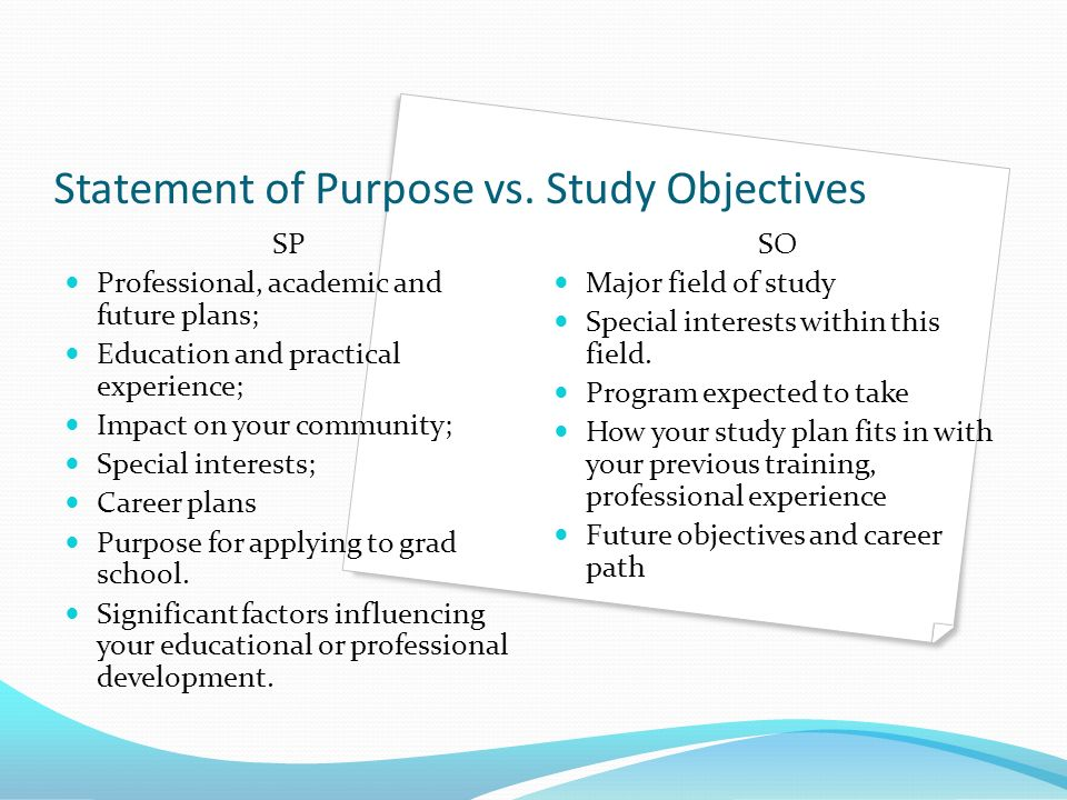future study plan Writing about the future in a graduate personal statement can be an enjoyable task another important part of the section on the future plans in graduate personal statements is the opportunity to focus on the application of the intended degree program to those plans.