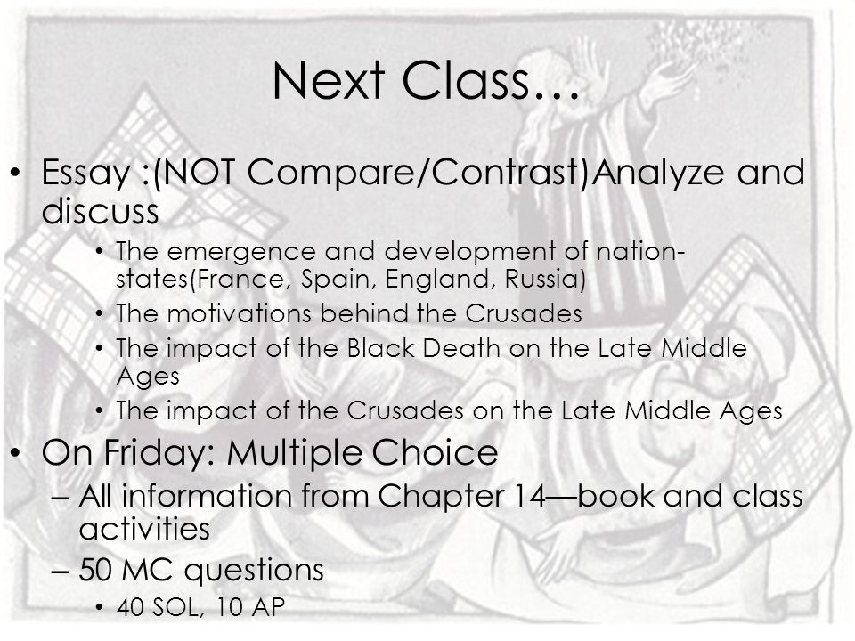 bellringer sol challenge ppt video online  essay not compare contrast analyze and discuss