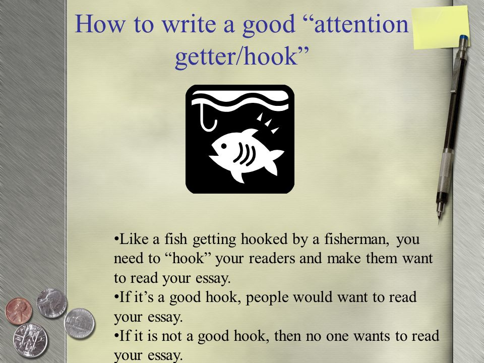 How to write a good narrative